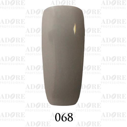 Гель лак Adore №068, кварцевый серый  9 мл