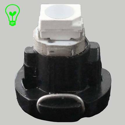 Светодиодная лампа в приборную панель, цоколь T3 1210(3528)-1 Зеленый, фото 2
