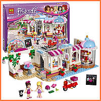"Конструктор Bela Friends 10496 ""Кондитерская"" (аналог LEGO Friends 41119), 444 дет​."