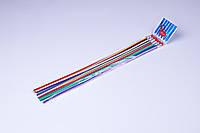 """Карандаши графитные пластиковые """"LeiLei"""" 30 см, гибкие с ластиком (6 шт), фото 1"""