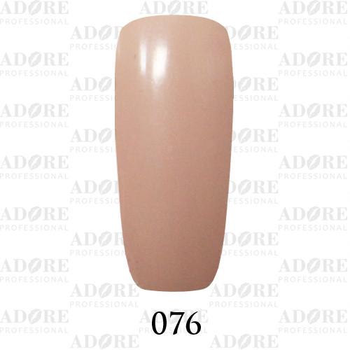 Гель лак Adore №076, пастельно-песочный 9 мл