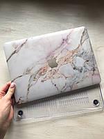 """Дизайнерский мраморный чехол для MacBook Air 11"""""""