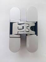 Петли дверные скрытые Koblenz Kubica 6200 универсальные  матовый хром