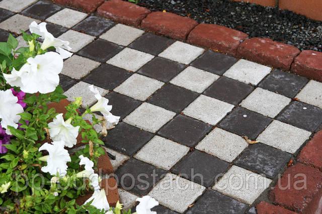 тротурной плитки «квадрат малий»