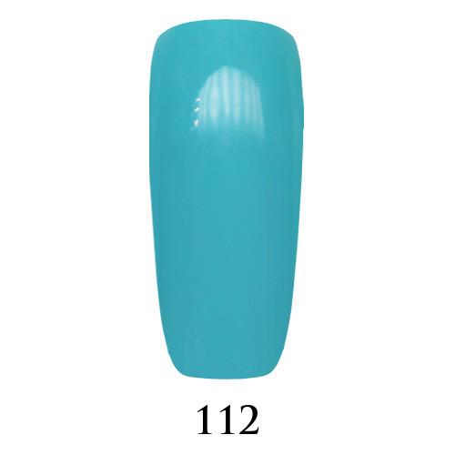 Гель лак Adore №112, голубой 9 мл