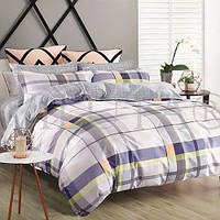 Комплект постельного белья Вилюта сатин Твилл двуспальный Евро 920
