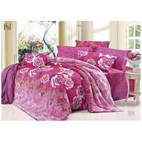 Комплект постельного белья Вилюта сатин Твилл двуспальный Евро 204