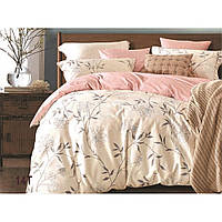Комплект постельного белья Вилюта сатин люкс Tiare двуспальный Евро 14T