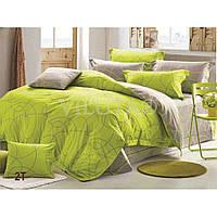 Комплект постельного белья Вилюта сатин люкс Tiare двуспальный Евро 2T