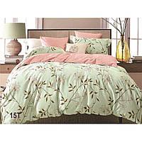 Комплект постельного белья Вилюта сатин люкс Tiare двуспальный Евро 15T