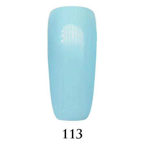 Гель лак Adore №113, нежный голубой 9 мл