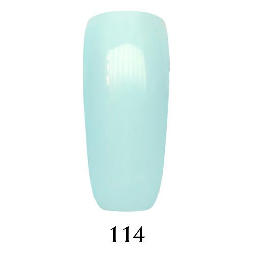 Гель лак Adore №114, белесый голубой 9 мл