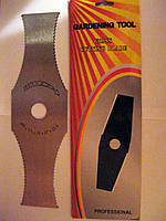 Нож для бензо(электро) косы с зубьями
