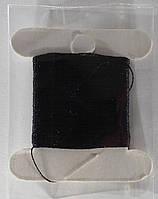 Нить для бисера Лантан (Lantan) №2003, 30 метров. Черный