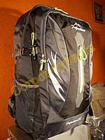 Рюкзак туристический городской спортивный Feifanlituo 8817 75 литров серо-черный, фото 1