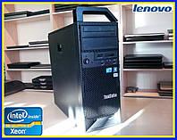 Системный блок Lenovo ThinkStation S20 Intel Xeon 4 ядра/DDR3 12GB/SATA 500GB/ сервер база компьютер