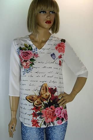 блуза з квітковим принтом Caro Ledi, фото 2