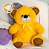 Плюшевый медвежонок Томми, 70 см, оранжевый, фото 2