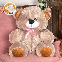 Плюшевый медвежонок Томми, 70 см, серый