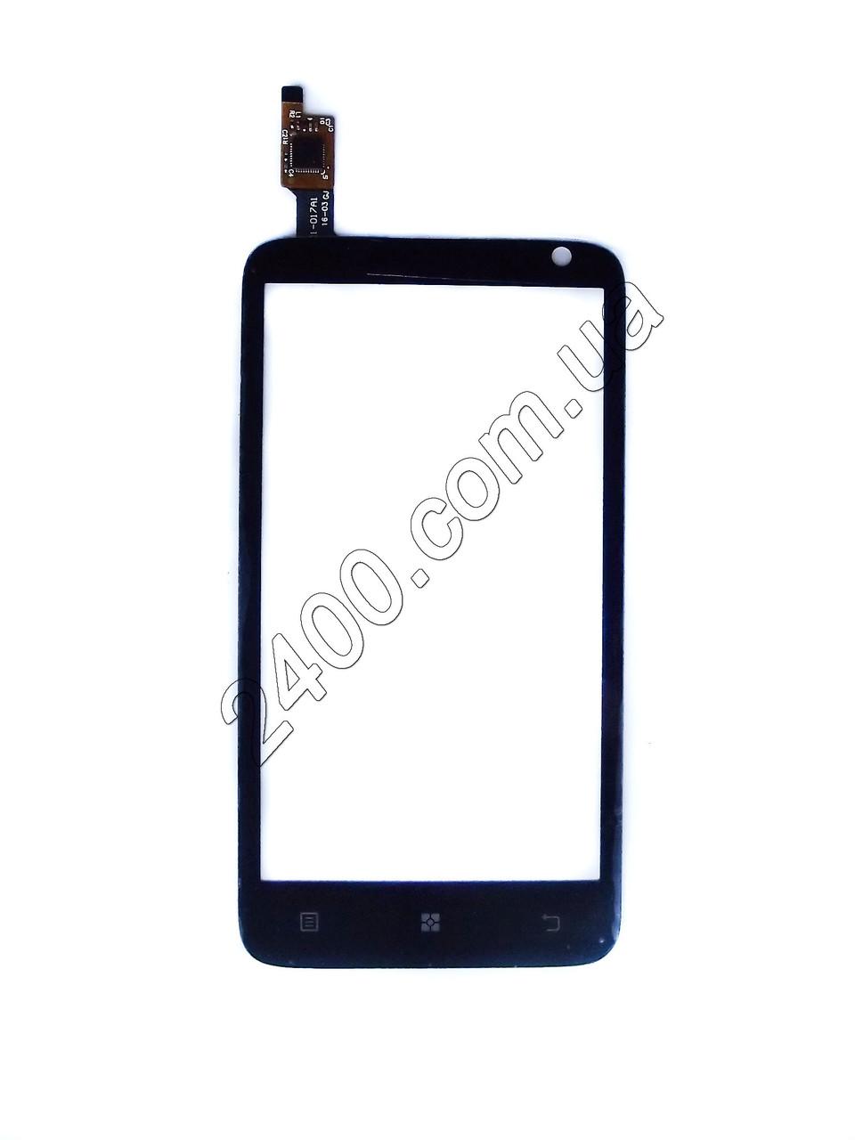 Сенсор для телефона Lenovo S 720 тачскрин черный