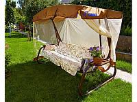 Качели садовые Турин (мебельная ткань), арт.677, Olsa (Республика Беларусь)