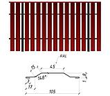 Штакетник металлический, евроштакетник, 0.45 мм, Printech Корея, Мультиглосс (MultiGloss), Одесса, фото 3