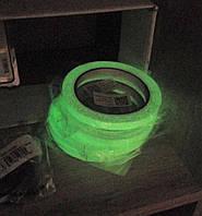 Світлова лєнта самоклейка, 10м., світиться в темряві