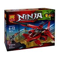 """Конструктор LELE Ninja """"Истребитель Кая"""" 79114, 210 дет."""