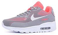Кроссовки женские Nike Air Max Thea black coral серые, Серый, 36