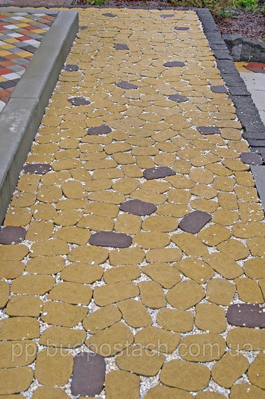Тротуарна плитка Маргарита Золотий мандарин
