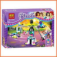 """Конструктор Bela Friends 10556 """"Парк развлечений: Космическое путешествие"""" (аналог LEGO 41128), 197 дет."""