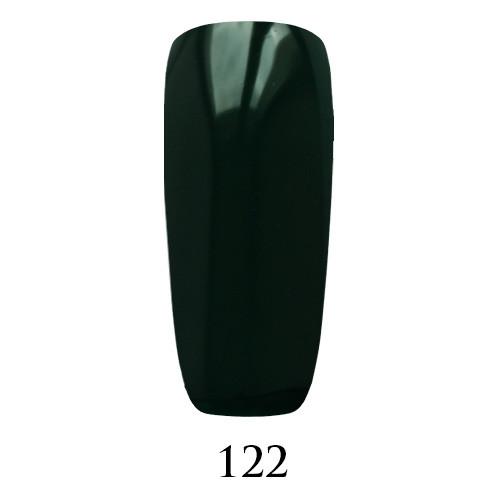 Гель лак Adore №122, очень темно-зеленый 9 мл