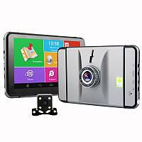 """Автомобильный GPS навигатор G6D 7"""", ANDROID 4.4 +DVR+камера заднего вида"""