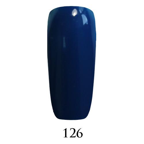 Гель лак Adore №126, синий 9 мл