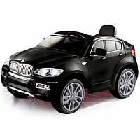 Электромобиль детский джип BMW X6 Black Tilly T-791