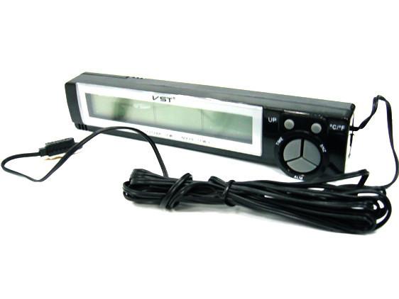 Автомобильные часы VST-7043 (+2 термодатчика)