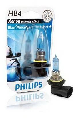 Галогенные лампы PHILIPS HB4 BlueVision Ultra 9006BVUB1