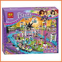 """Конструктор Bela Friends 10563 """"Парк развлечений: Американские горки"""" (аналог LEGO Friends), 1136 дет."""