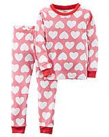 Детская пижама с принтом для девочки Carters Картерс
