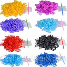 Двухцветные резиночки для плетения фенечек