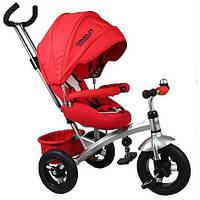 Велосипед Turbo Trike с поворотным сиденьем M 3194 красный