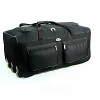 Дорожная сумка на колесах RGL A2 110 л черная