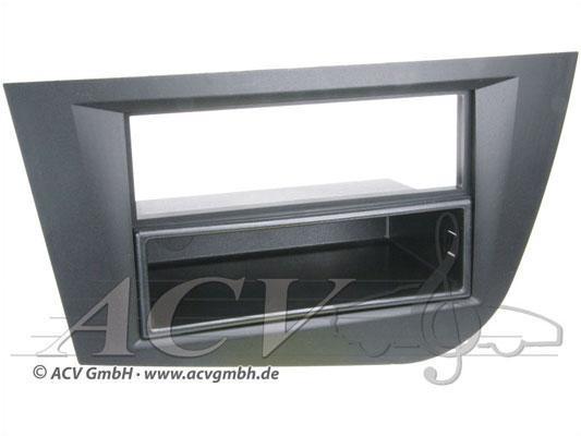 Рамка переходная 281328-33 Seat Leon (05->) black