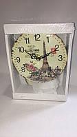 Часы в стиле прованс деревянные skp 96 Paris