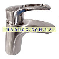Смеситель для умывальника Haiba (Хайба) Hansberg stainless steel 001