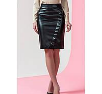 Стильная женская кожаная юбка у-211283