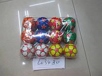 Мяч фомовый, 6 цветов, 12 штук в пакете, L03480