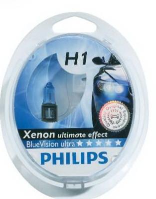 Галогенные лампы PHILIPS H7 X-treme Vision SP 12V 55W 12972XVS2