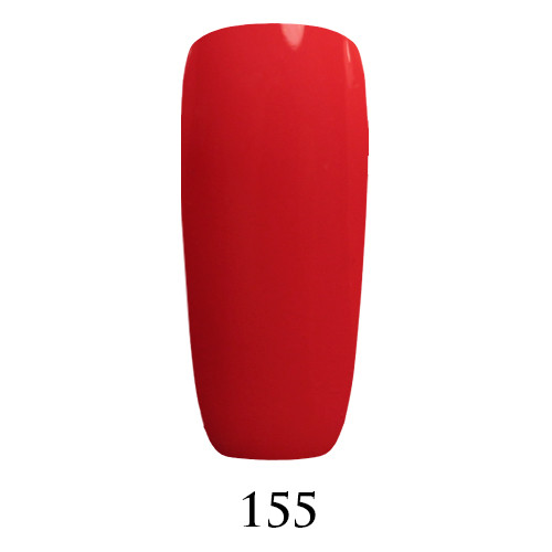 Гель лак Adore №155 , клубничный красный  9 мл