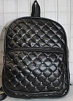 Ранец Рюкзак Стильный Плетение Искусственная Экко-кожа  с камнями  K 17-502-2